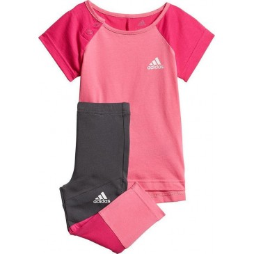 ADIDAS Mini Me Tight Set DV1252 ΦΟΥΞΙΑ