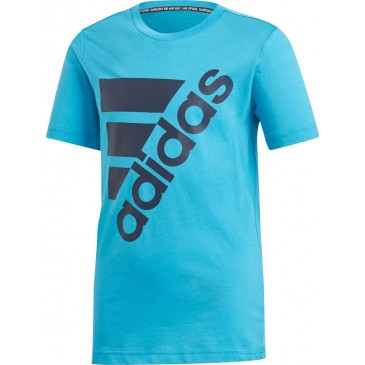Adidas Boy's Must Haves Badge Of Sport Tee DV0794  ΓΑΛΑΖΙΟ