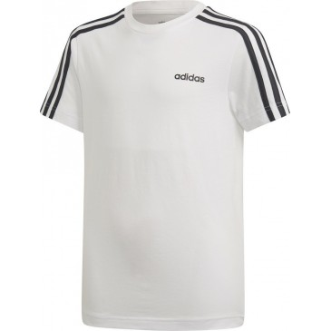 Adidas Core Essentials 3-Stripes Kid's Tee DV1800  ΛΕΥΚΟ