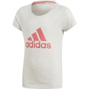 Adidas Essentials Performance Logo Tee CF7253 ΖΑΧΑΡΙ