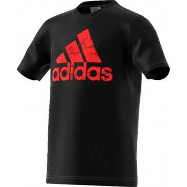 Adidas Badge of Sport Tee CV6144  ΜΑΥΡΟ