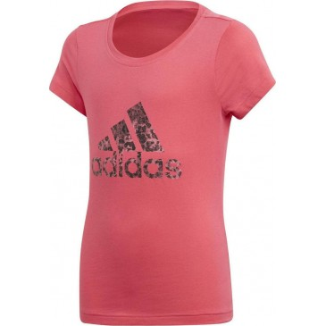 Adidas Essentials Performance Logo Tee Ps CF7254 ΦΟΥΞΙΑ