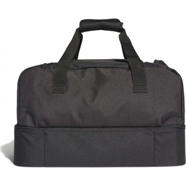 TIRO DUFFEL BAG BOTTOM COMPARTMENT S DQ1078 ΜΑΥΡΟ