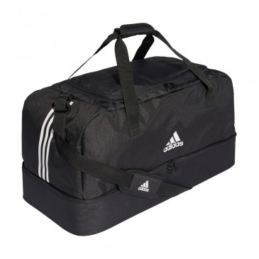 TIRO DUFFEL BAG BOTTOM COMPARTMENT L DQ1081 ΜΑΥΡΟ