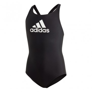 YOUTH GIRLS BOS SWIMSUIT DQ3370 ΜΑΥΡΟ