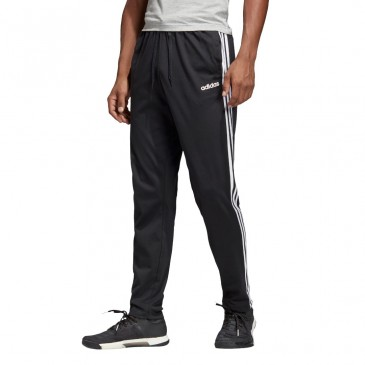 Essentials 3 Stripes Tapered Pant SJ Open Hem DU0456 ΜΑΥΡΟ