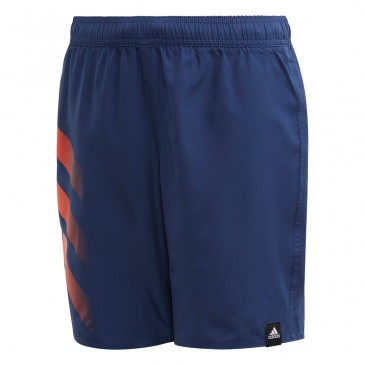YOUNG ATHLETE BOLD THREE STRIPES SHORTS FL8710 ΜΠΛΕ