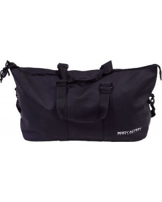 GYM DUFFLE BAG WITH TWO SIDE HANDLES 095002-ΜΑΥΡΟ ΜΑΥΡΟ