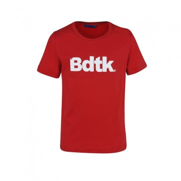 BDTKB TSHIRT 100 CO   1201-752028-300 ΚΟΚΚΙΝΟ
