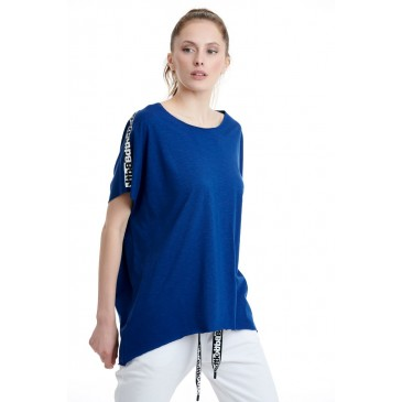 BDTKW LONG LOOSE TSHIRT 50MODAL 50CO   1201-901428-507 DAWN