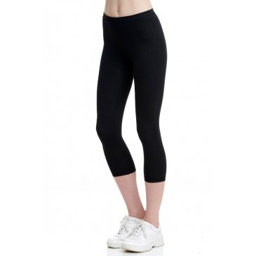 BDTKW LEGGINGS 3/4 92CO 8EA   1201-902009-100 ΜΑΥΡΟ