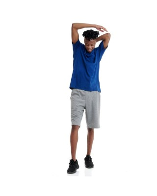 BDTKM CARRY OVER WALKSHORT(KNEE HEIGHT) - MEDIUM CROTCH 80 CO 20PES  1201-950004-54680 ΓΚΡΙ