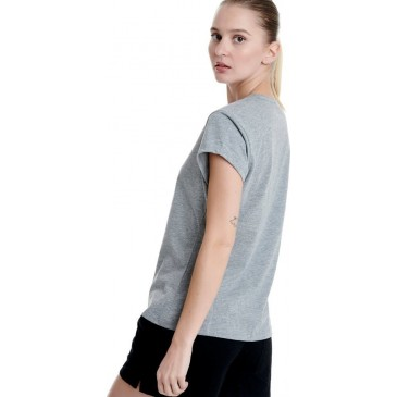 CARRY OVER SLIM TSHIRT 1201-900028-01-54680 ΓΚΡΙ