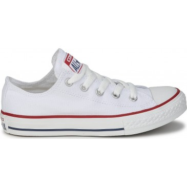 Converse All Star Chuck Taylor Ox White M7652C  ΛΕΥΚΟ