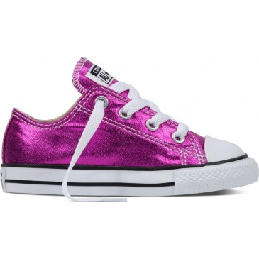 Converse All Star Chuck Taylor Ox Metallic Purple 755561C  ΜΩΒ