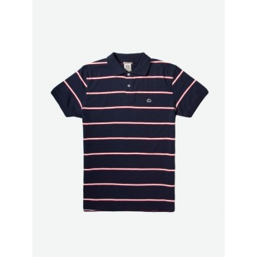 Mens Single Jersey Polo 201.EM35.83-ΜΠΛΕ ΜΠΛΕ