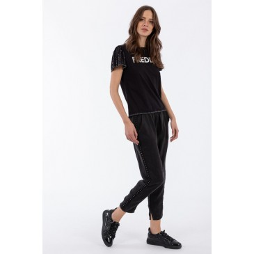 S0WFNP2 Trousers ΠΑΝΤΕΛΟΝΙ S0WFNP2     ΜΑΥΡΟ