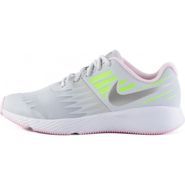 907257 Girls Nike Star Runner (GS) R ΥΠΟΔΗΜΑ 907257-005 ΓΚΡΙ