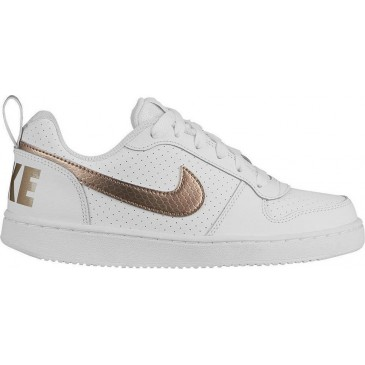 Nike Court Borough Low EP GS BV0745-100 ΛΕΥΚΟ