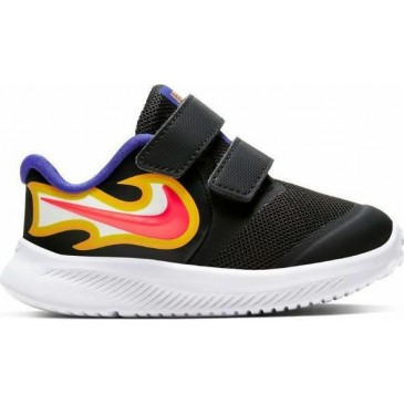 Nike Star Runner 2 Fire CW1615-001 ΜΑΥΡΟ