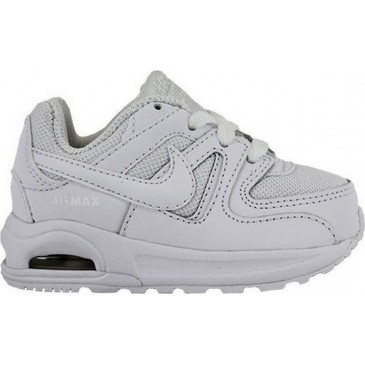 844348 NIKE AIR MAX COMMAND FLEX (TD) ΥΠΟΔΗΜΑ 844348-101 ΛΕΥΚΟ