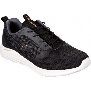 Skechers Bounder 52504/BLK ΜΑΥΡΟ