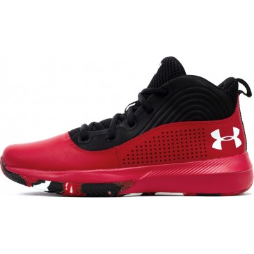 Under Armour UA GS Lockdown 4 3022123-601 ΚΟΚΚΙΝΟ
