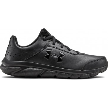 Under Armour UA GS Assert 8 UFM SYN 3022697-001 ΜΑΥΡΟ