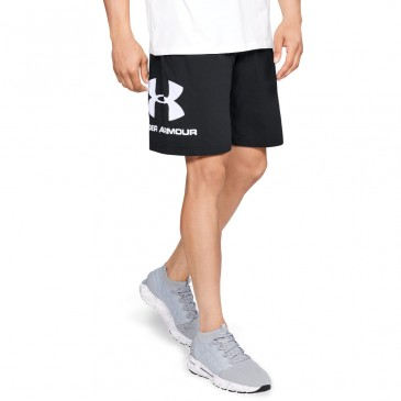 Under Armour Sportstyle Cotton Graphic 1329300-001 ΜΑΥΡΟ