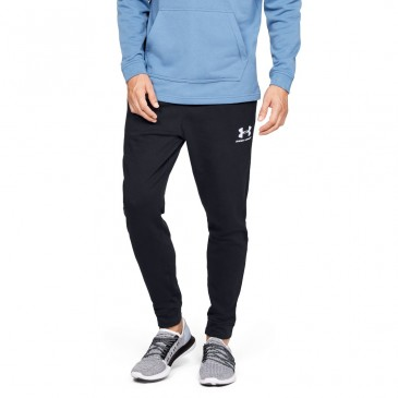 Under Armour Sportstyle Terry Jogger  1329289-001 ΜΑΥΡΟ