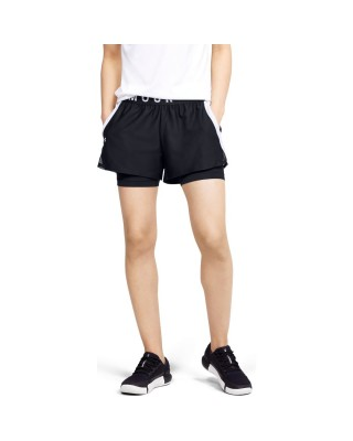 1351981 Play Up 2-in-1 Shorts ΣΟΡΤ  1351981-001 ΜΑΥΡΟ