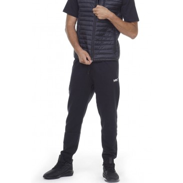 BODYACTION MEN SPORTSTYLE SWEATPANTS 023014-01-ΜΑΥΡΟ ΜΑΥΡΟ