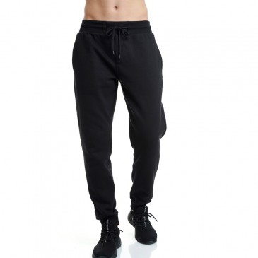 PANTSONMCL SLIM JOGGER PANTS -MEDIUM CROTCH 1202-959800-100 ΜΑΥΡΟ