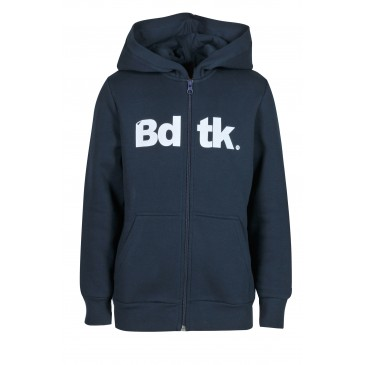 BDTKB HOODED ZIP SWEATER  1202-751022-423 ΜΠΛΕ