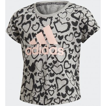 Must Haves Graphic Tee GE0938 ΓΚΡΙ
