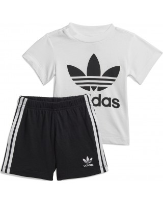 ADIDAS ORIGINALS SHORT TEE SET FI8318 ΛΕΥΚΟ