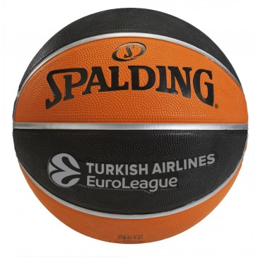 TF-150 EuroLeague Official Rubber Replica Ball Size 7 84-003Z1 MULTI