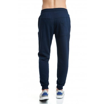 PANTSONMCL SLIM JOGGER PANTS -MEDIUM CROTCH 1202-959600-423 ΜΠΛΕ