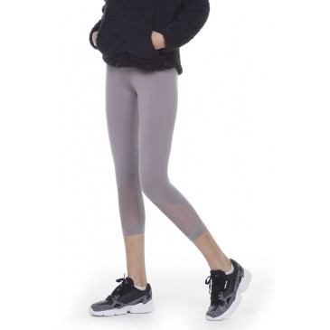 BODYACTION WOMEN 7/8 LEGGINGS 011012-01-ΓΚΡΙ ΓΚΡΙ