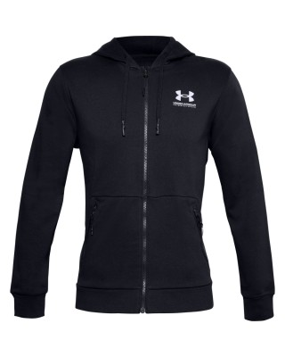 1357113 UA Rival Fleece MAX FZ HD ΖΑΚΕΤΑ 1357113-001 ΜΑΥΡΟ