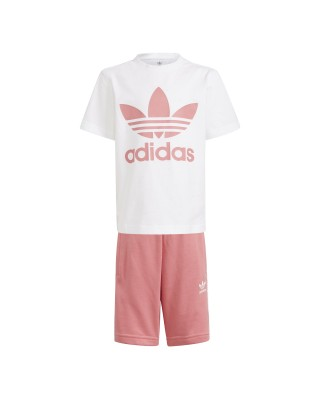 ADIDAS ORIGINALS adicolor short tee set GP0195 ΛΕΥΚΟ
