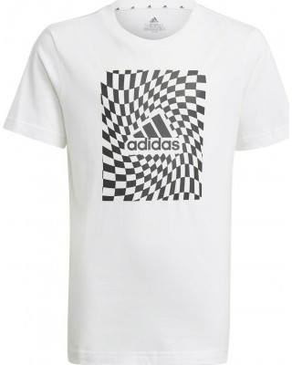 ADIDAS BOYS GRAPHIC T-SHIRT 1 GN1474 ΛΕΥΚΟ