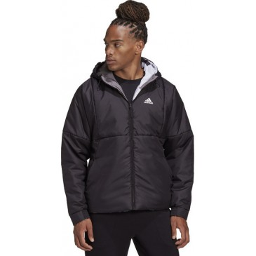 Back to Sport Reversible Allover Print Insulated Jacket FT2456 ΜΑΥΡΟ