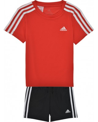 ADIDAS BOYS D2M T-SHIRT AND SHORTS GN1493 ΚΟΚΚΙΝΟ
