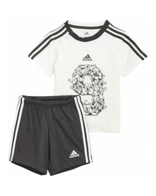 ADIDAS Lil 3-Stripes Sporty Summer Set GM8966 ΛΕΥΚΟ