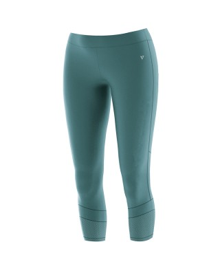WOMENS RUNNING 3/4 TIGHTS 20018-ΜΠΛΕ ΜΠΛΕ
