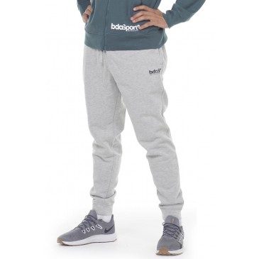MEN FLEECE SPORTSTYLE JOGGERS 023012-ΓΚΡΙ ΓΚΡΙ