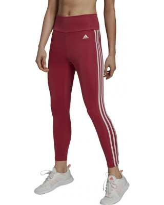 ADIDAS HIGH RISE 3-STRIPES 7/8 TIGHTS GP7233 ΡΟΖ
