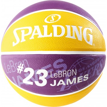 NEW NBA PLAYER LAKERS LEBRON JAMES  size 7 83-848Z1 MULTI