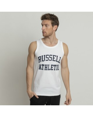 RUSSELL ATHLETIC AL-SINGLET A1082-1-001 ΛΕΥΚΟ
